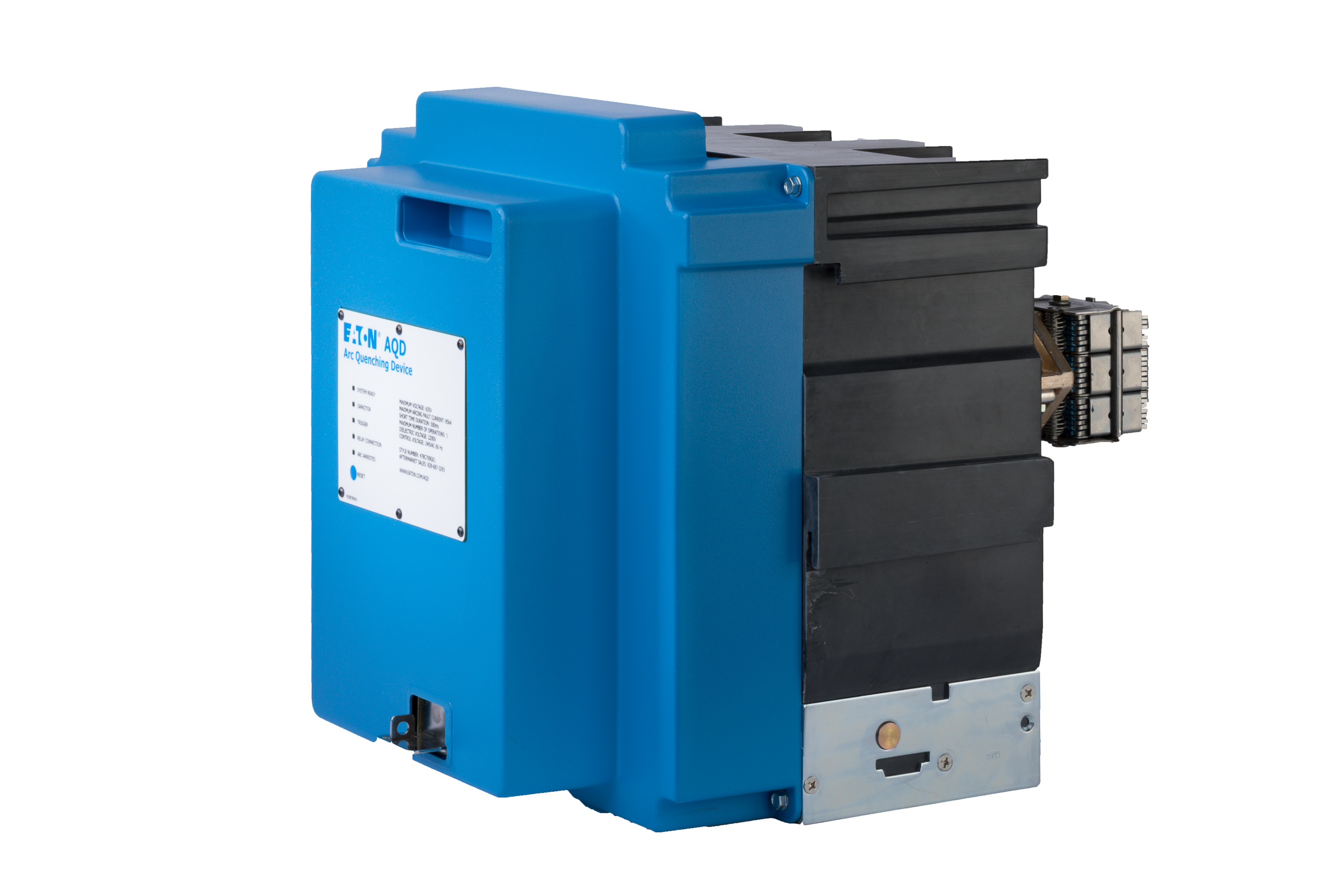With Eaton's Arc Quenching Switchgear, electrical equipment can withstand an arc flash event with little to no damage, so that downtime is minimized.