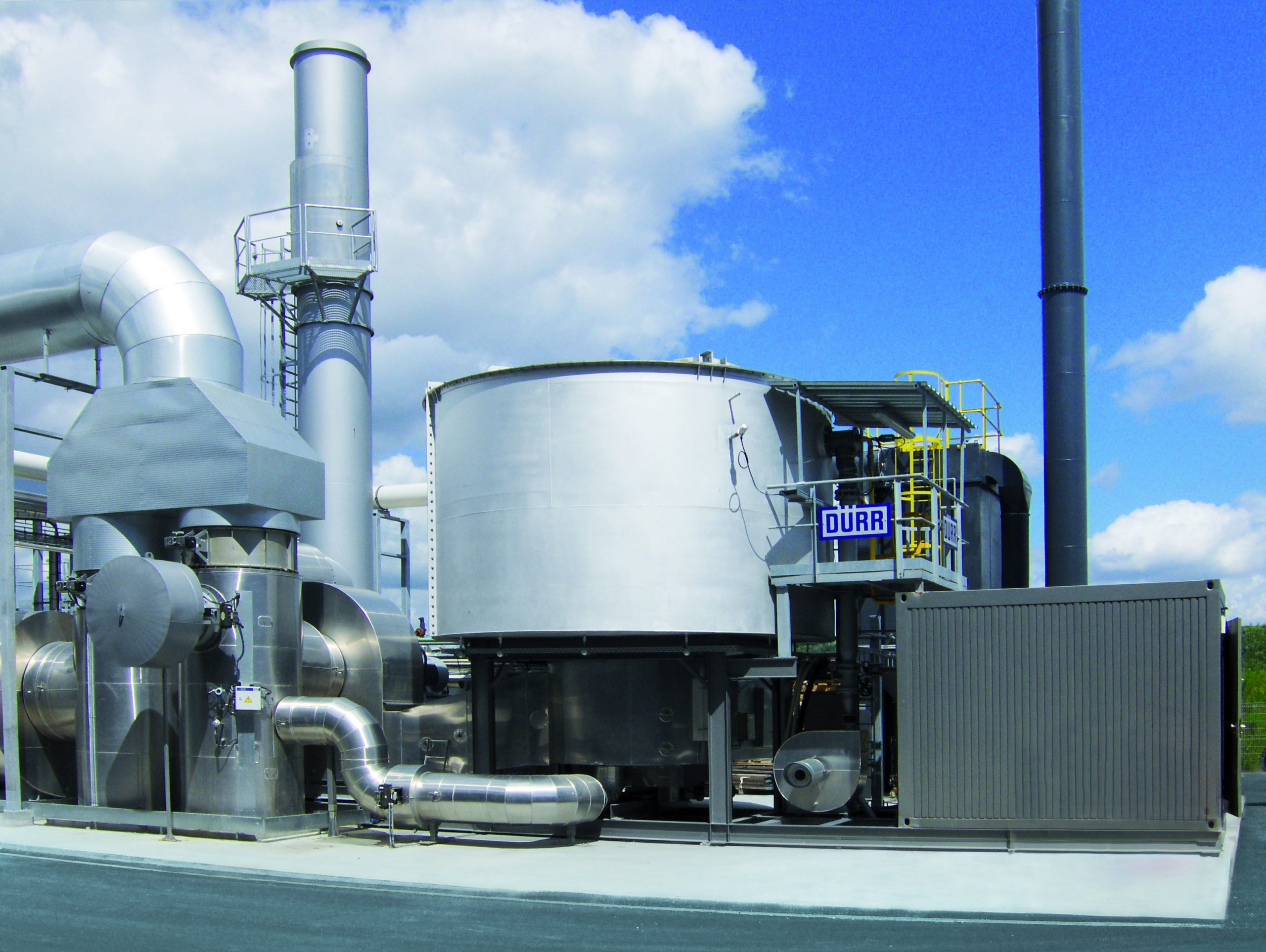 Rotary valve RTO systems offer maximum uptime and use only negligible energy.